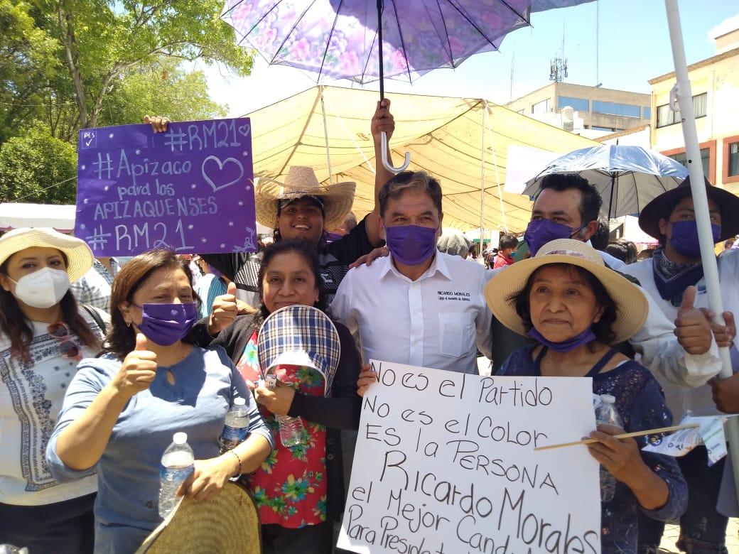 Ricardo Morales es el mejor candidato a la presidencia para Apizaco: Seguidores