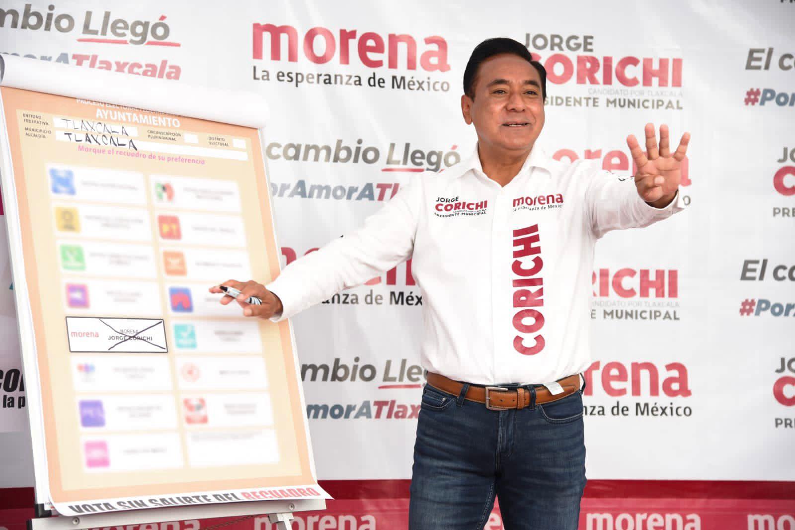 El cambio no tiene reversa, el 6 de junio vamos a ganar: Jorge Corichi