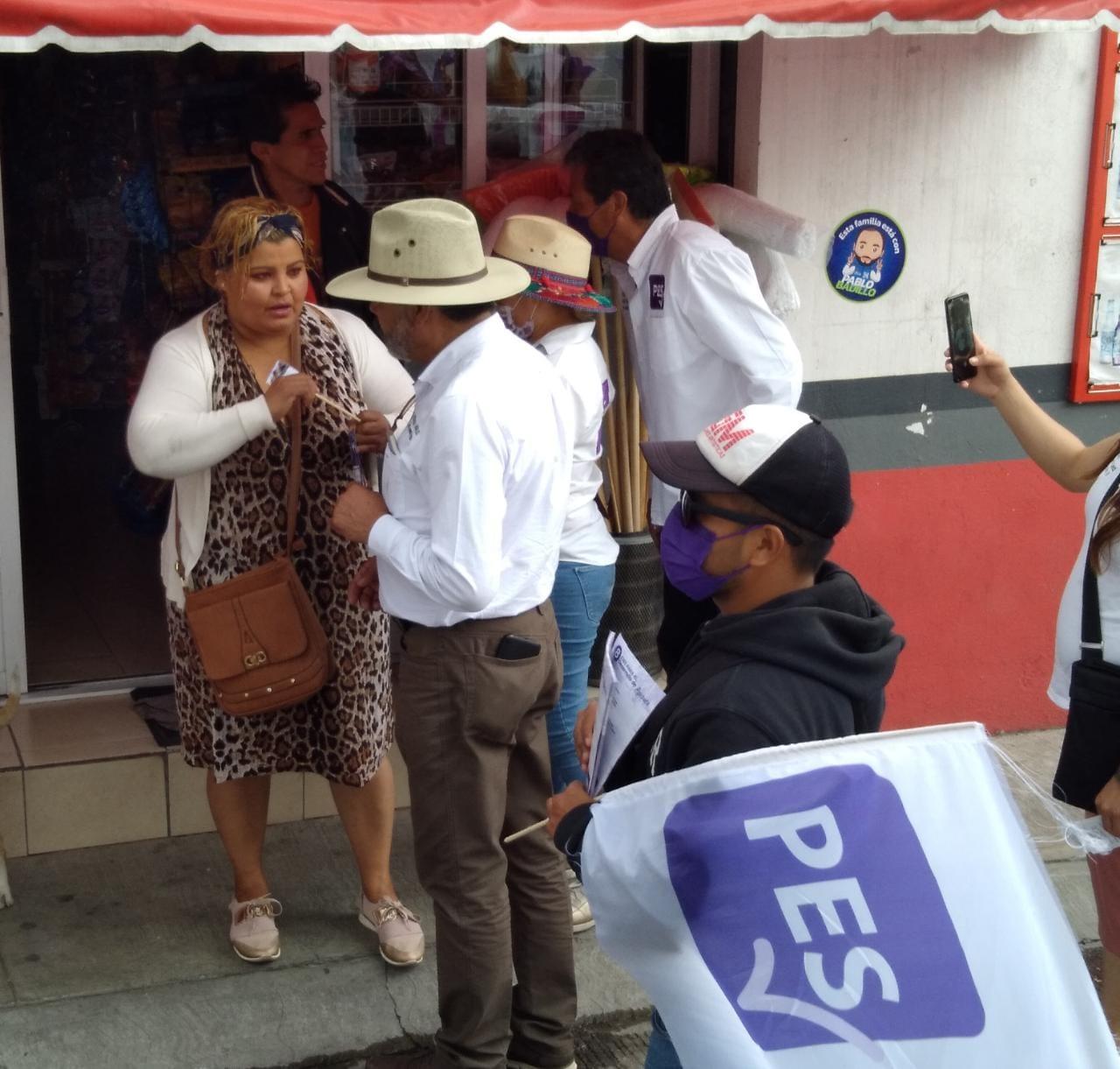 Ricardo Morales cierra campaña en las comunidades de Apizaco