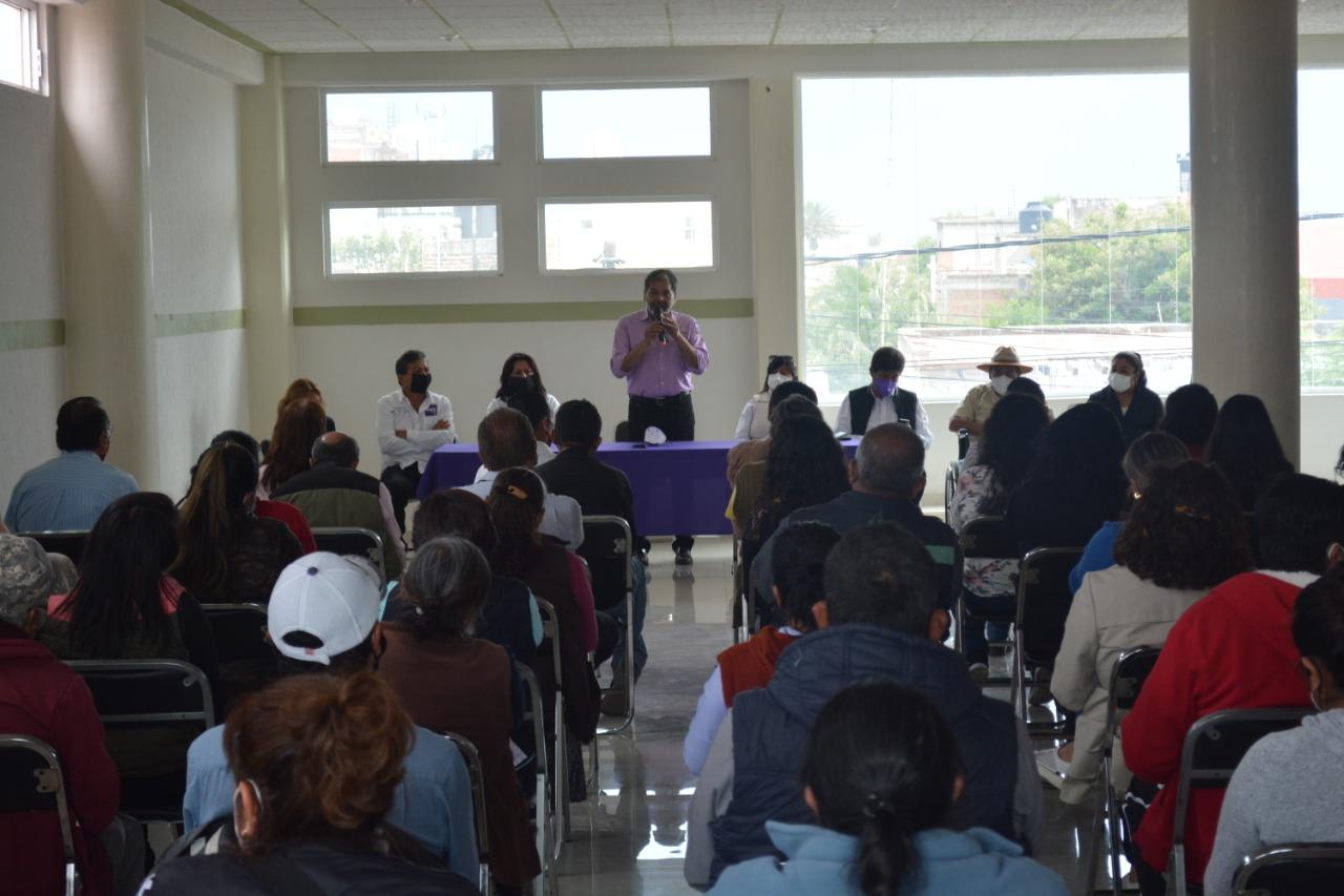 Con un ejército electoral defenderemos el voto en las urnas: Ricardo Morales Cruz
