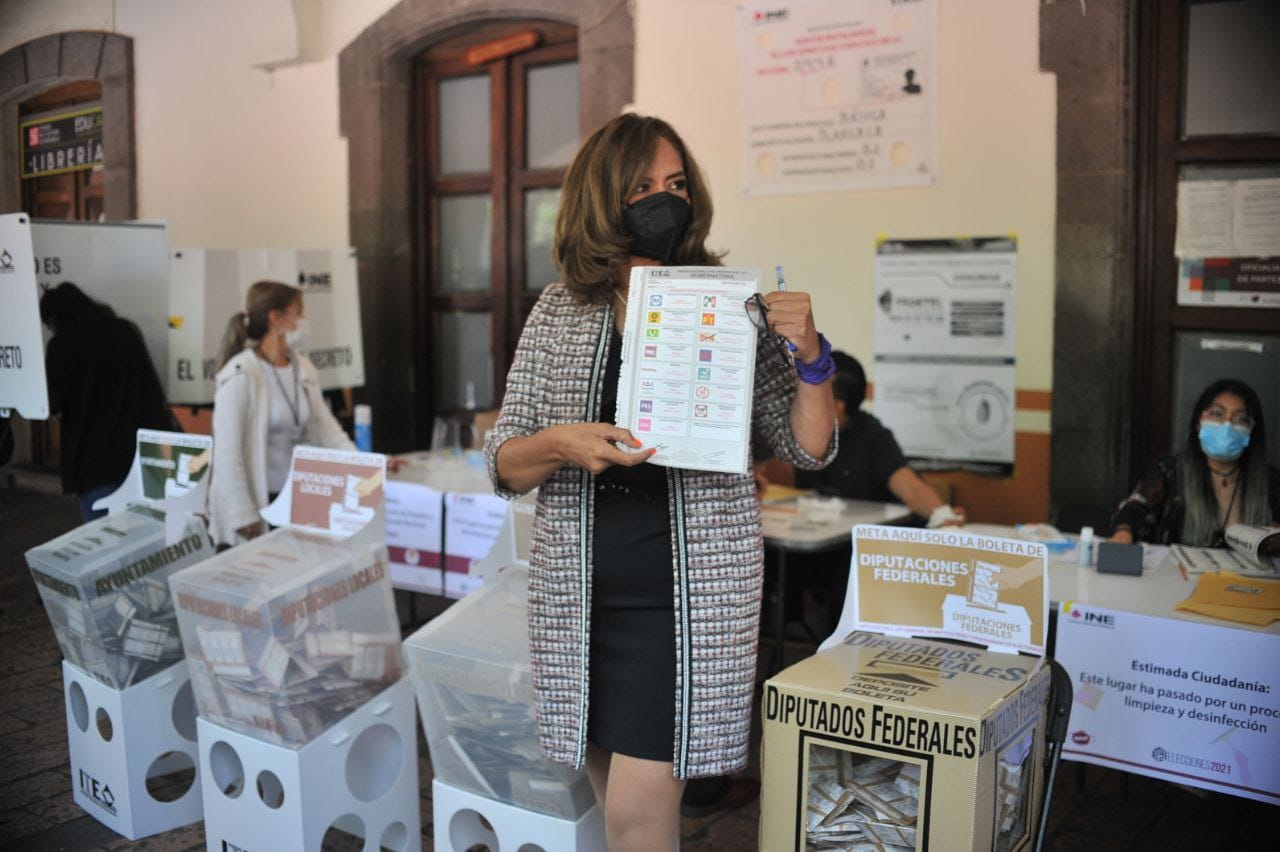Reconoce Eréndira Jiménez participación ciudadana en la elección