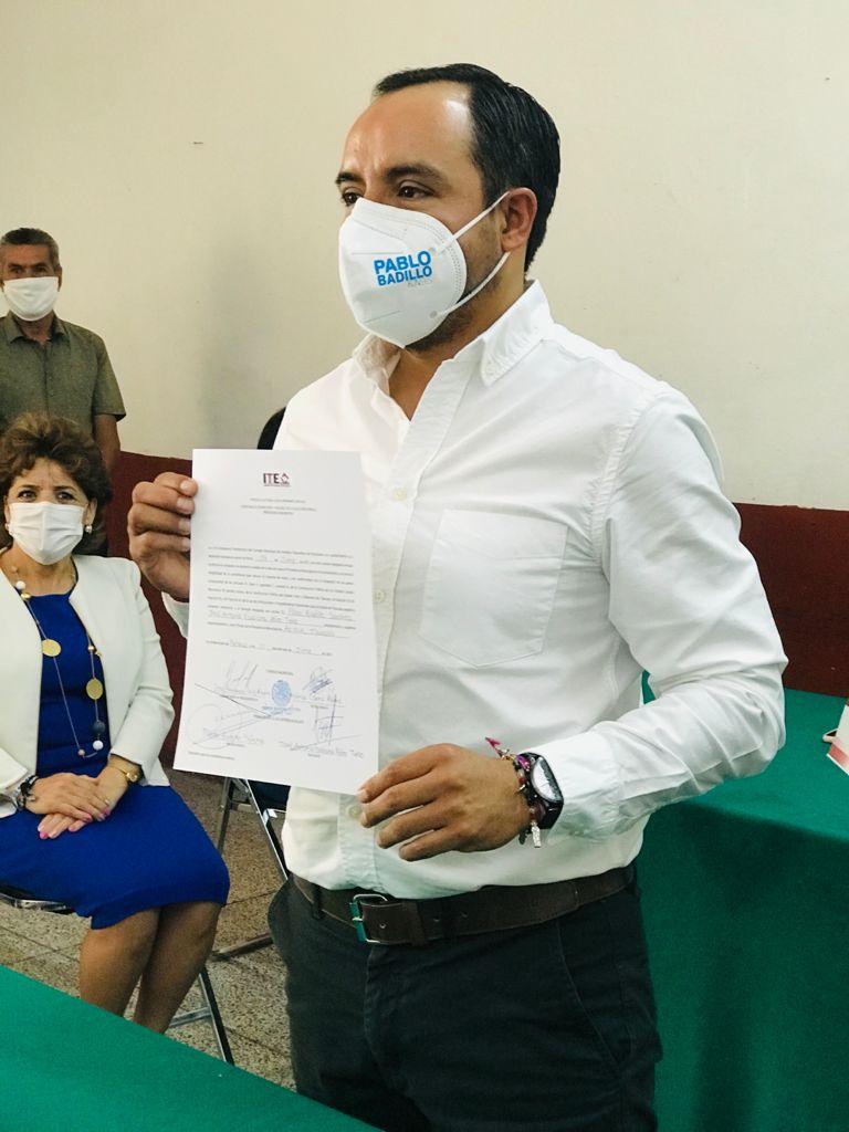 Un apizaquense para Apizaco; es Pablo Badillo el nuevo presidente municipal