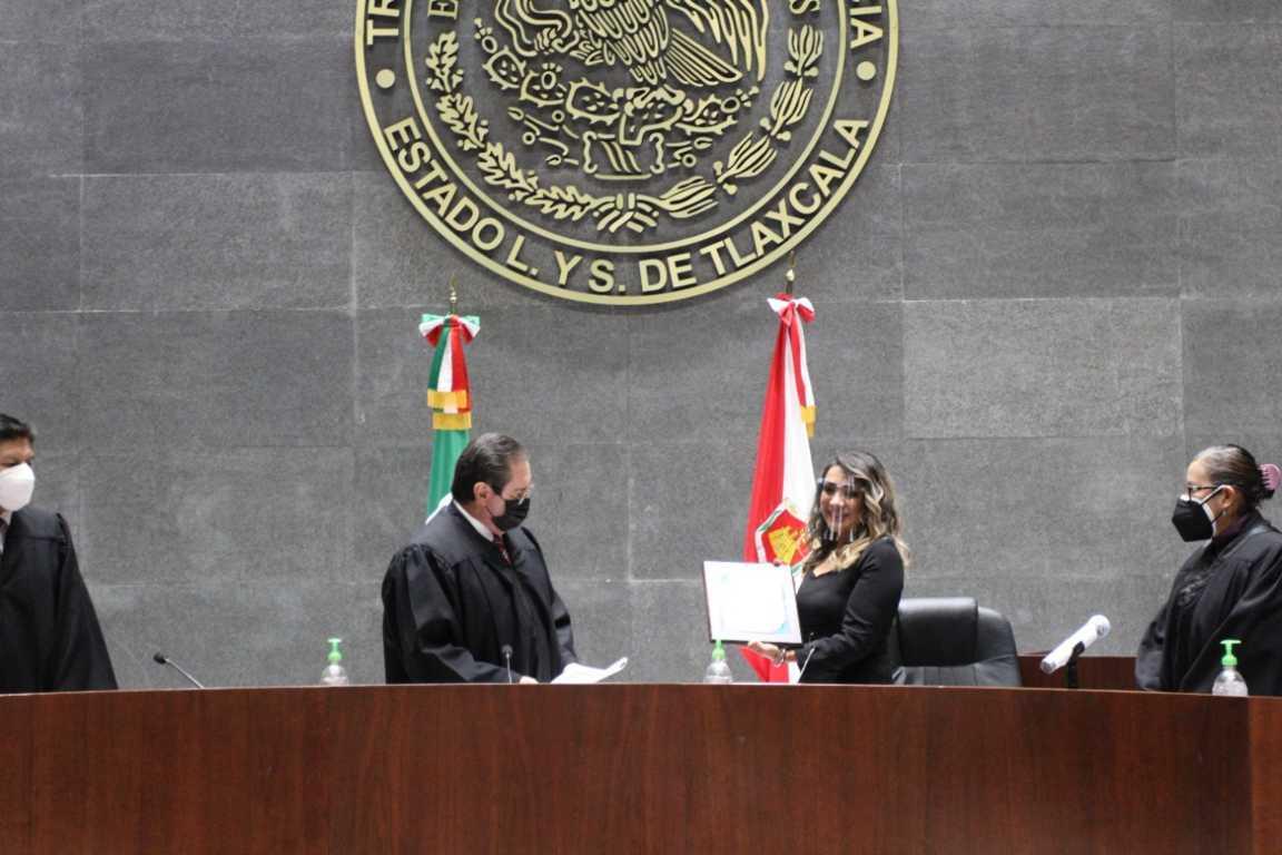 Reconoce Poder Judicial a magistrada en retiro Elsa Cordero