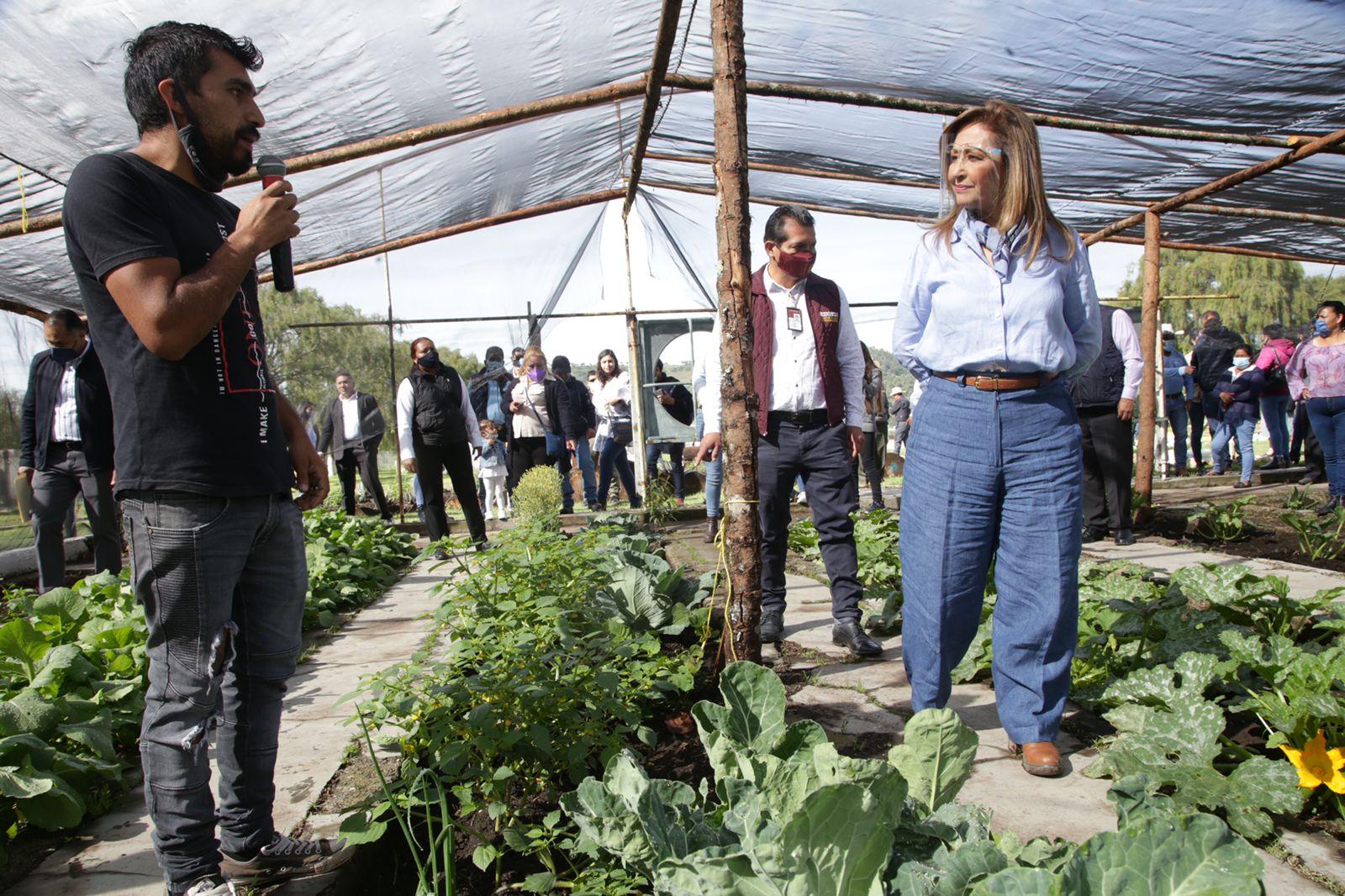 Impulsaremos un trabajo sin precedentes en beneficio del campo y medioambiente: Lorena Cuéllar