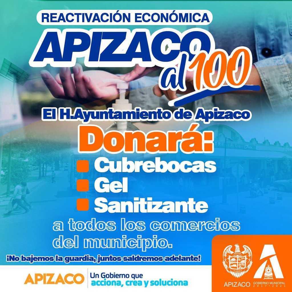 La reactivación económica de Apizaco será responsable
