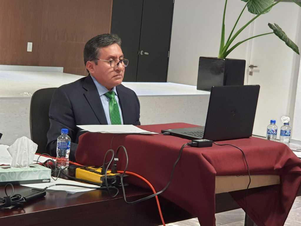 Participa juez Pedro Muñoz en jornada de capacitación de Conatrib