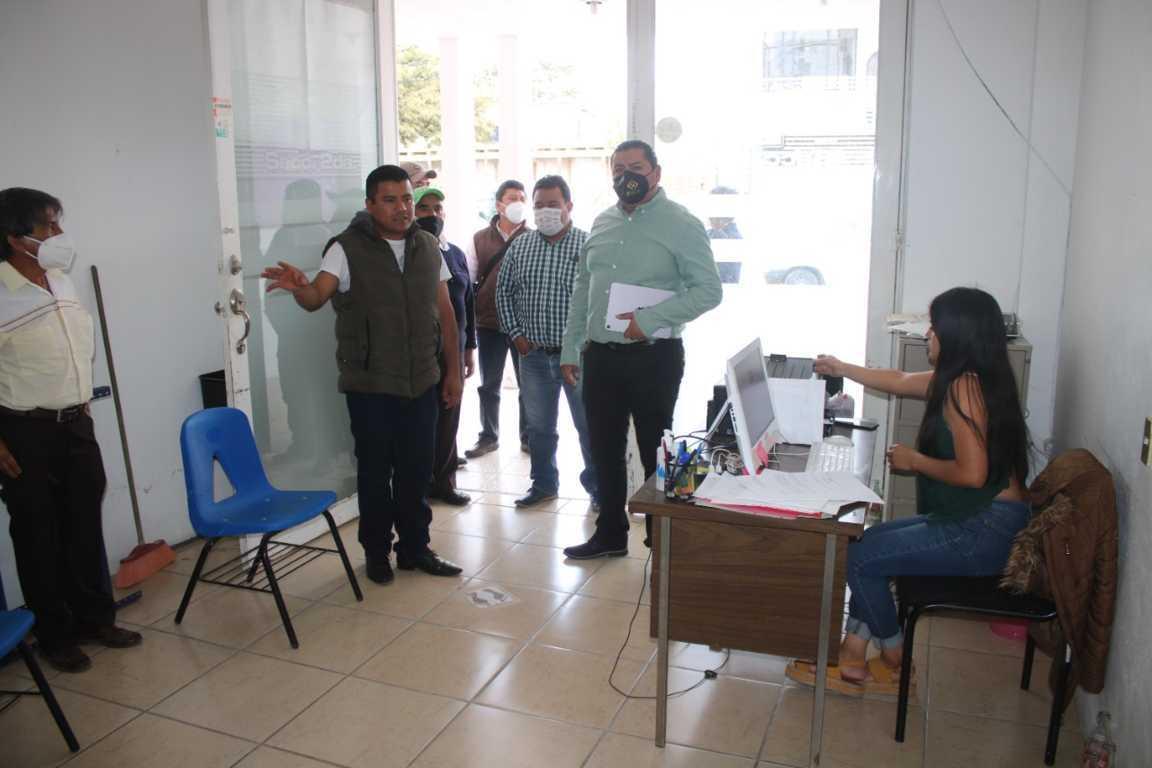 Inicia Eddy Roldán, supervisión de Presidencias de Comunidad para mejorar sus instalaciones
