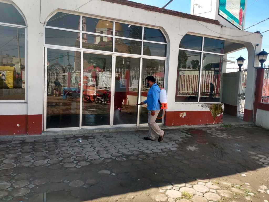 La Sanitización de espacios públicos vital para prevenir el Covid-19: alcalde