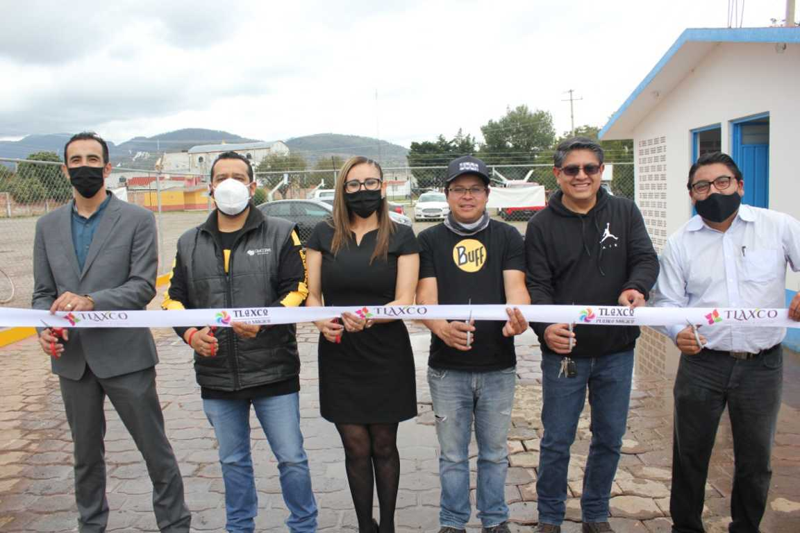 Inaugura Gardenia Hernández nuevo pozo de agua potable en Tlaxco cabecera