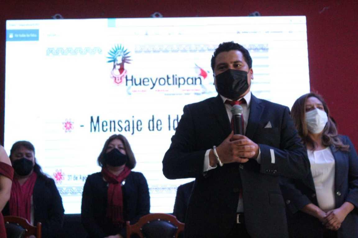 Asume funciones Luis Ángel Roldan Carrillo como alcalde de Hueyotlipan