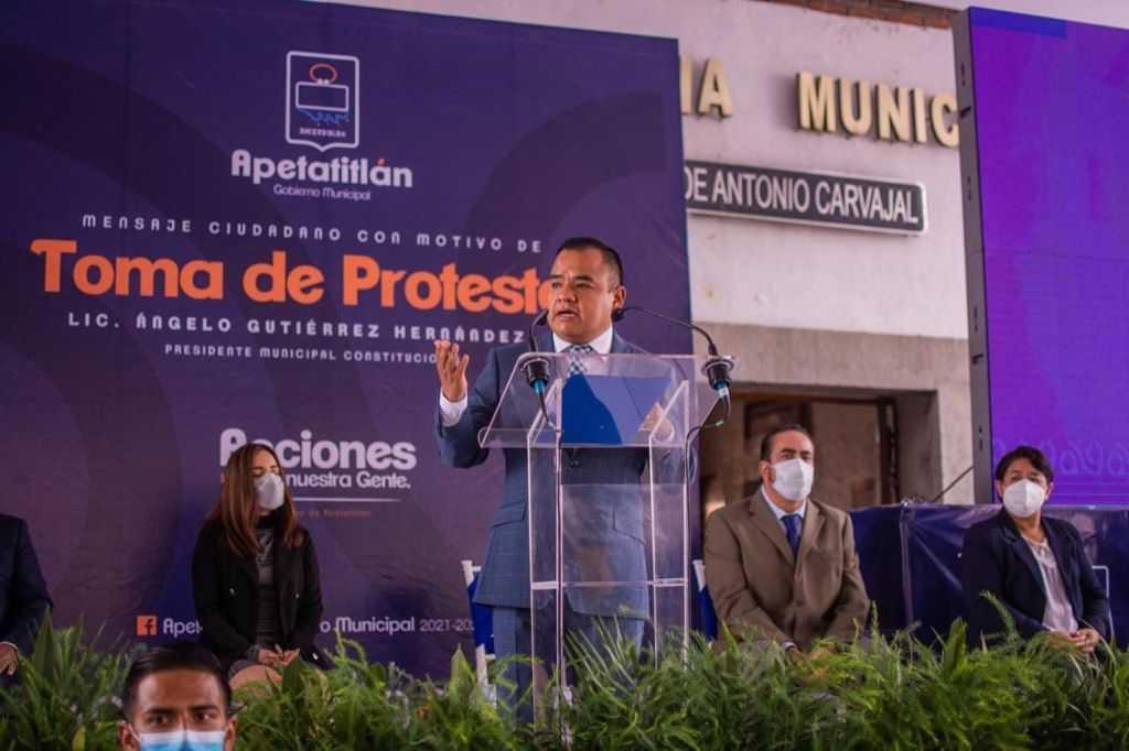 Tendrá Ángelo Gutiérrez un Gobierno acciones contundentes para la gente