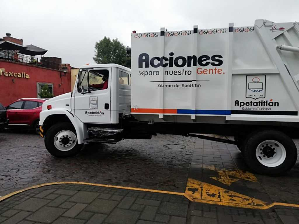 Rehabilita Gobierno de Ángelo Gutiérrez camión recolector que estaba abandonado