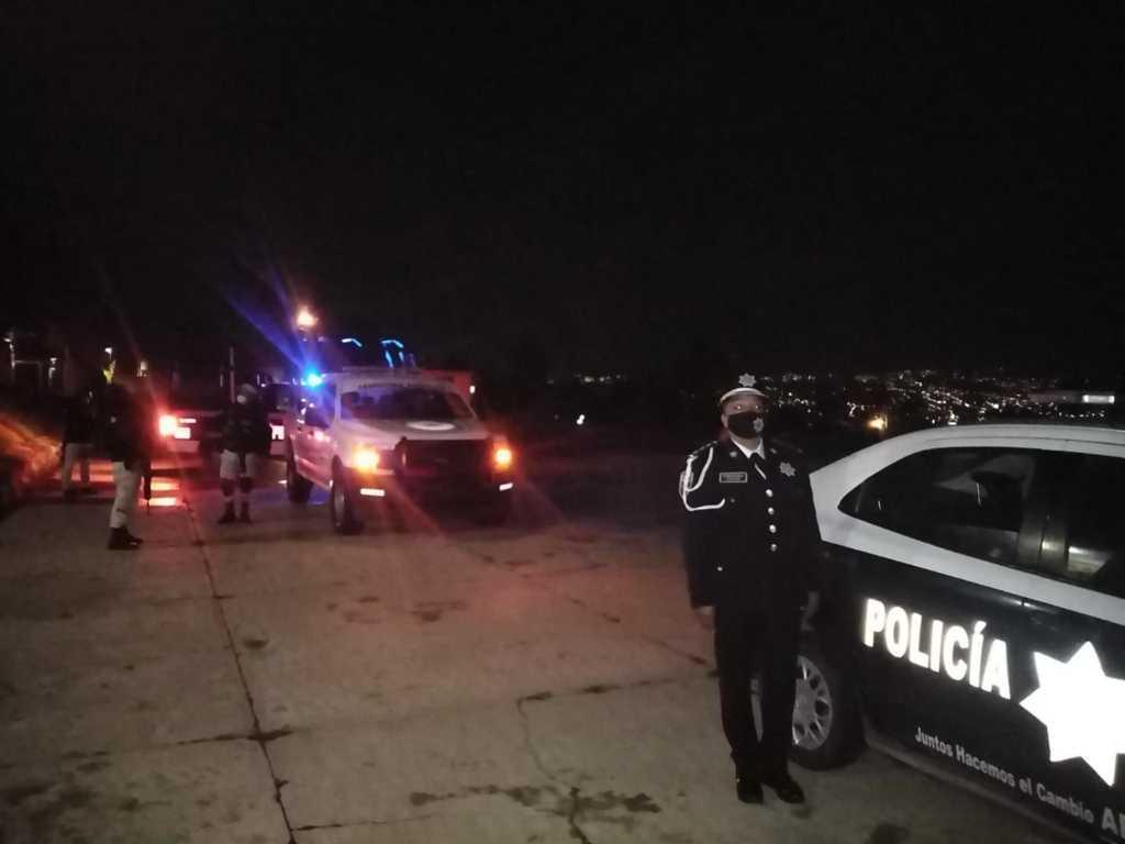 Exitoso primer operativo de Seguridad Municipal en Apetatitlán