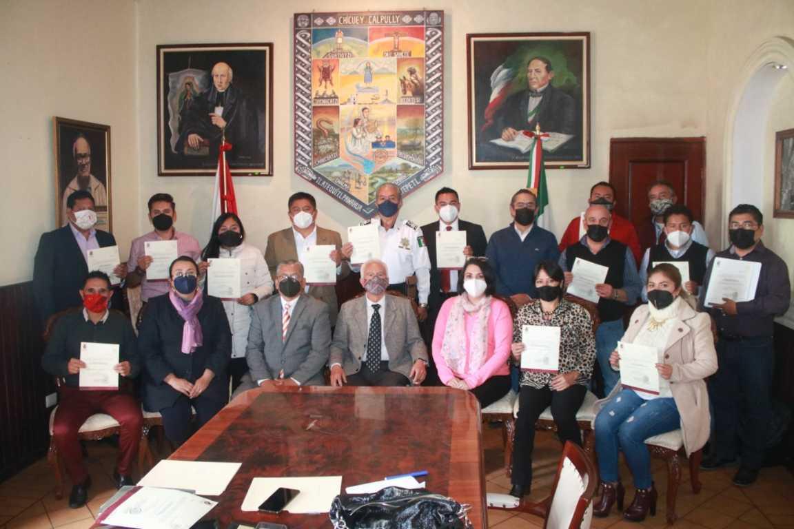 Integran Ayuntamiento de Chiautempan profesionistas con experiencia y amplia trayectoria en la administración pública