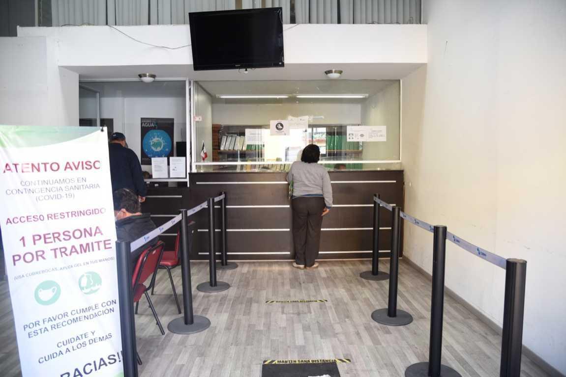 CAPAM informa que por el momento solo se aceptan pagos del servicio de agua en efectivo o cheques certificados