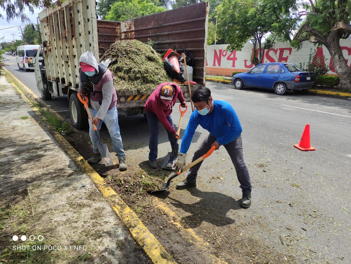 Inicia Servicios Públicos rehabilitación de edificio de la Presidencia Municipal