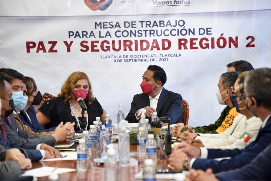 Encabeza Jorge Corichi Mesa de Trabajo regional para la Construcción de Paz y la Seguridad