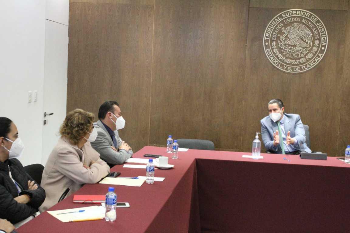 Se tomarán acciones para fortalecer los juzgados del Sistema Penal Acusatorio: Héctor Maldonado