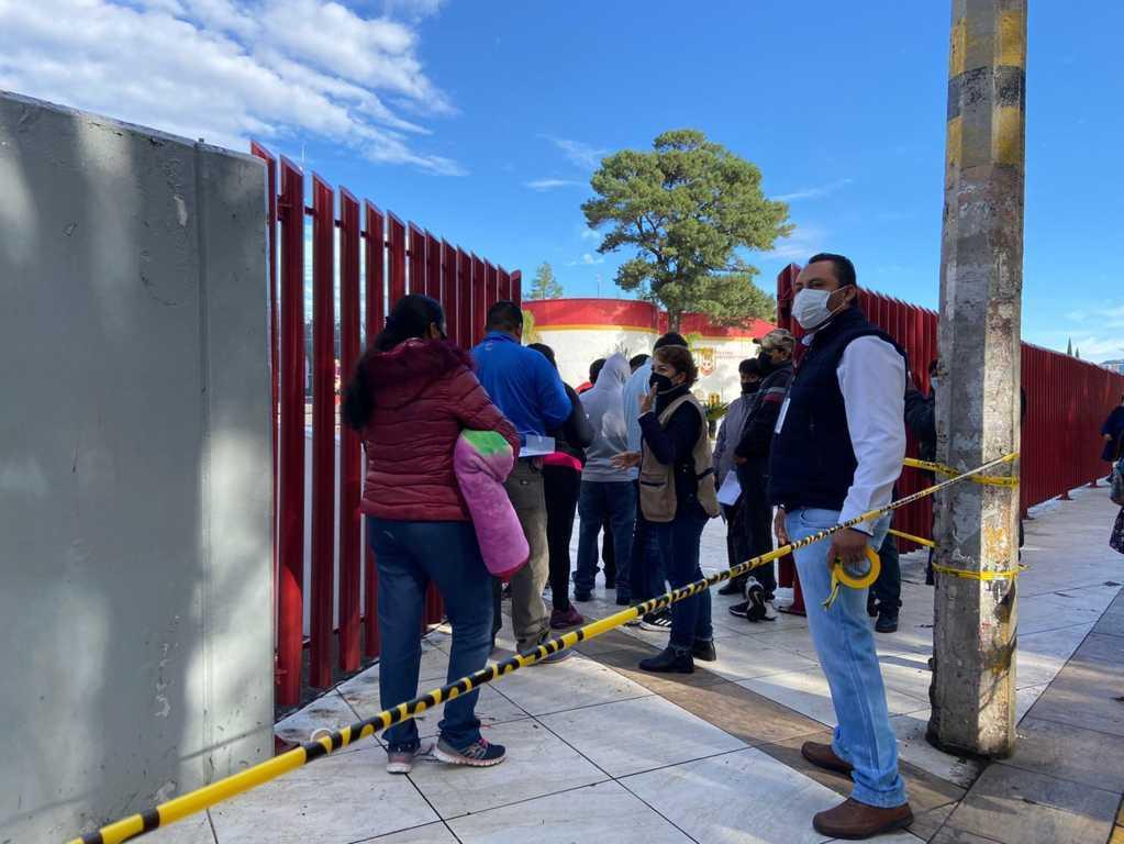 Brinda apoyo el Ayuntamiento de Tlaxcala a la Secretaría de Bienestar para la vacunación contra COVID19