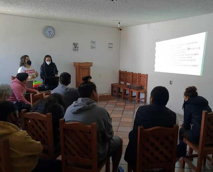 Grupo ESAT en Apizaco inaugura centro de ayuda para combatir adicciones