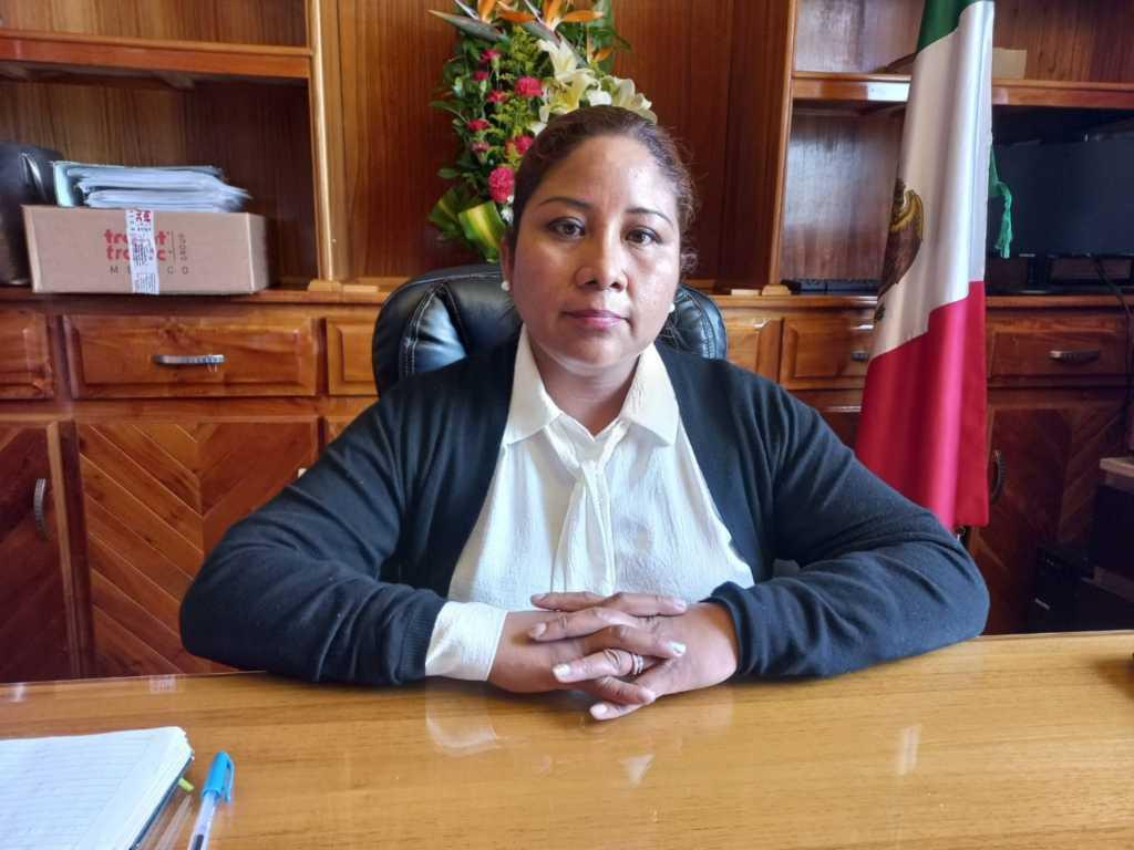 Alcaldesa de Amaxac reporta saldo blanco tras el sismo de 6.9