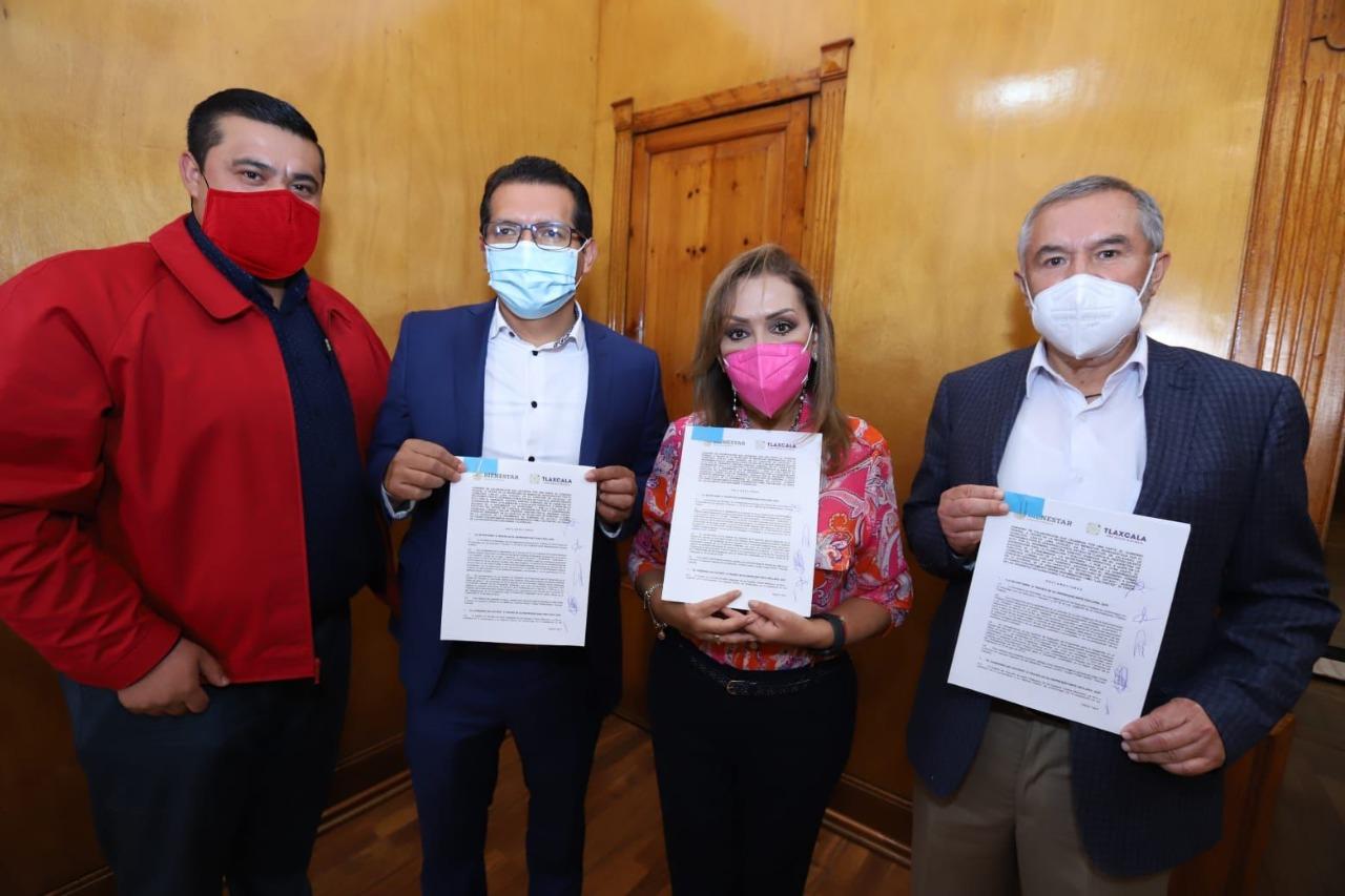 Gobiernos Estatal y Federal acuerdan trabajar juntos para los tlaxcaltecas