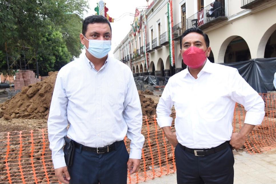 Gestiona Corichi recursos para infraestructura de la Ciudad de Tlaxcala