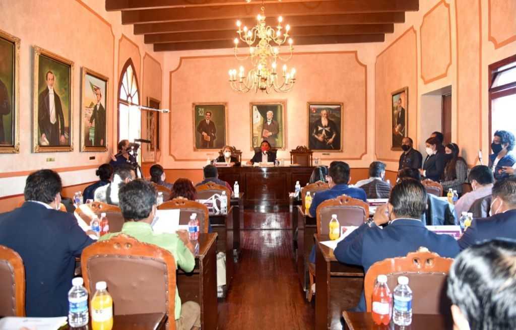 Fructífera Primera Sesión Extraordinaria del Cabildo de Tlaxcala.