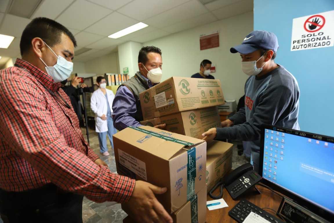 Invierte Tlaxcala 26.6 mdp en abasto de medicamentos para hospitales