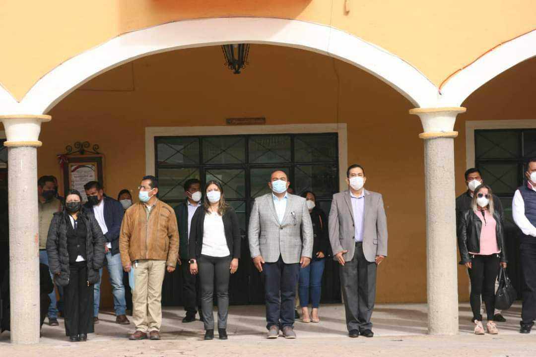 Alcalde de Xaloztoc encabezó el 174 Aniversario de la Gesta Heroica