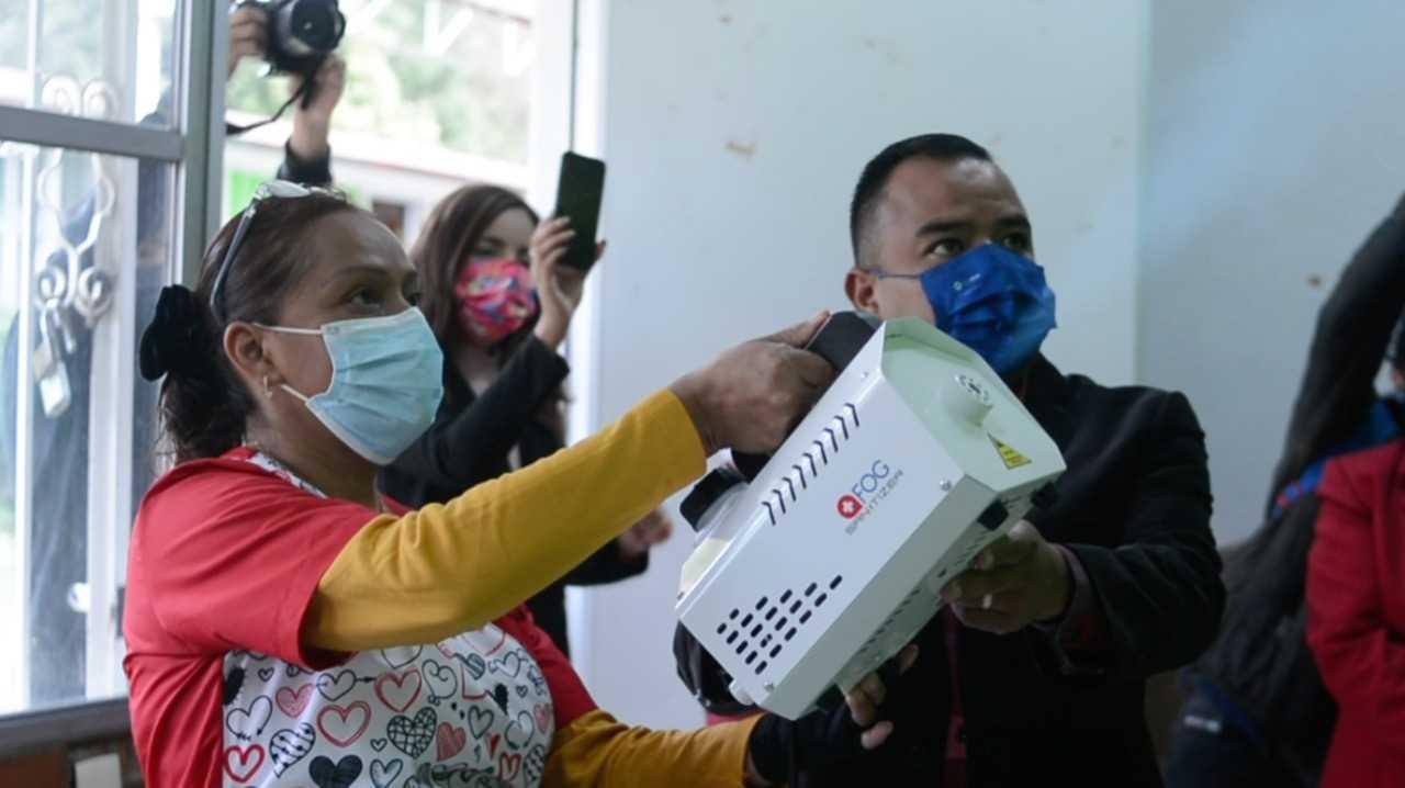 Invertiremos lo necesario para proteger la salud de las y los alumnos en Apetatitlán: AGH