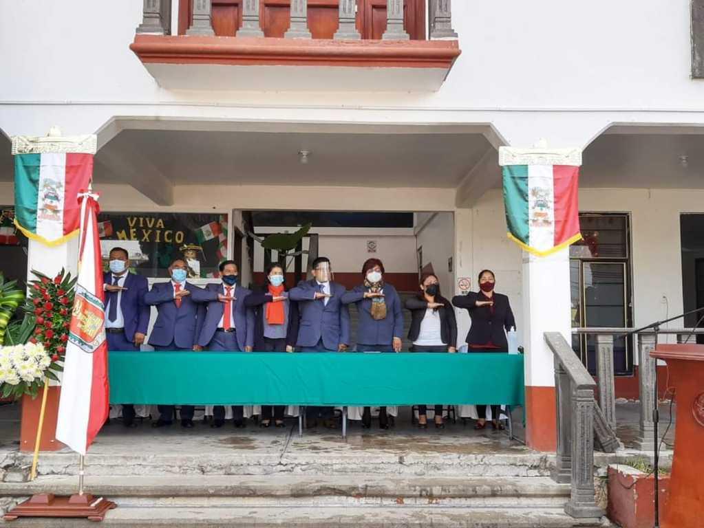 Conmemora Nopalucan, el 174 Aniversario de la Gesta Heroica de Chapultepec
