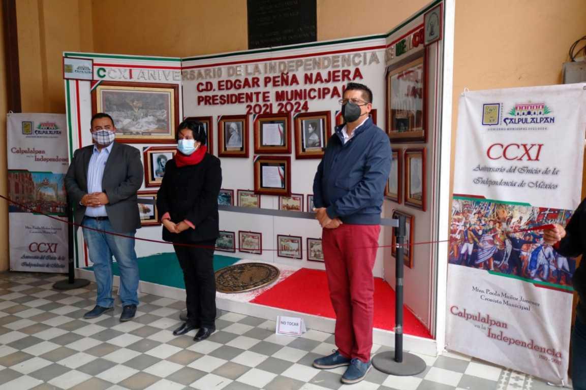 Inaugura alcalde exposición fotográfica de la Independencia de México