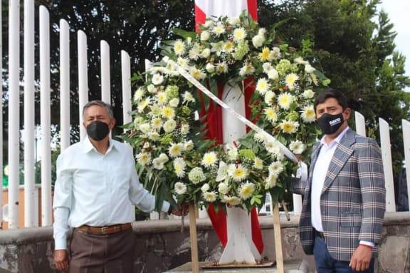 En Santa Cruz Tlaxcala debido a la pandemia, los festejos de independencia serán por redes sociales