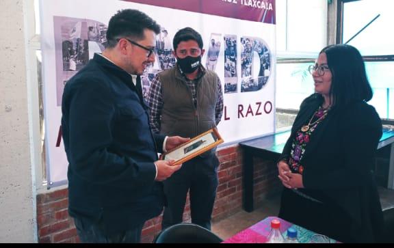 Avanza David Martínez en temas culturales, se reune con el director del ITC