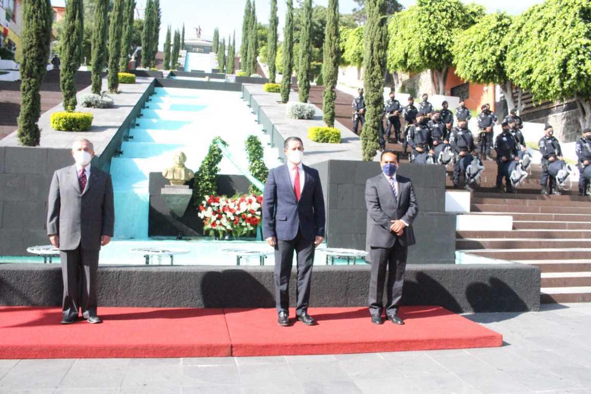Encabezó secretario de Gobierno ceremonia por Aniversario de la Independencia