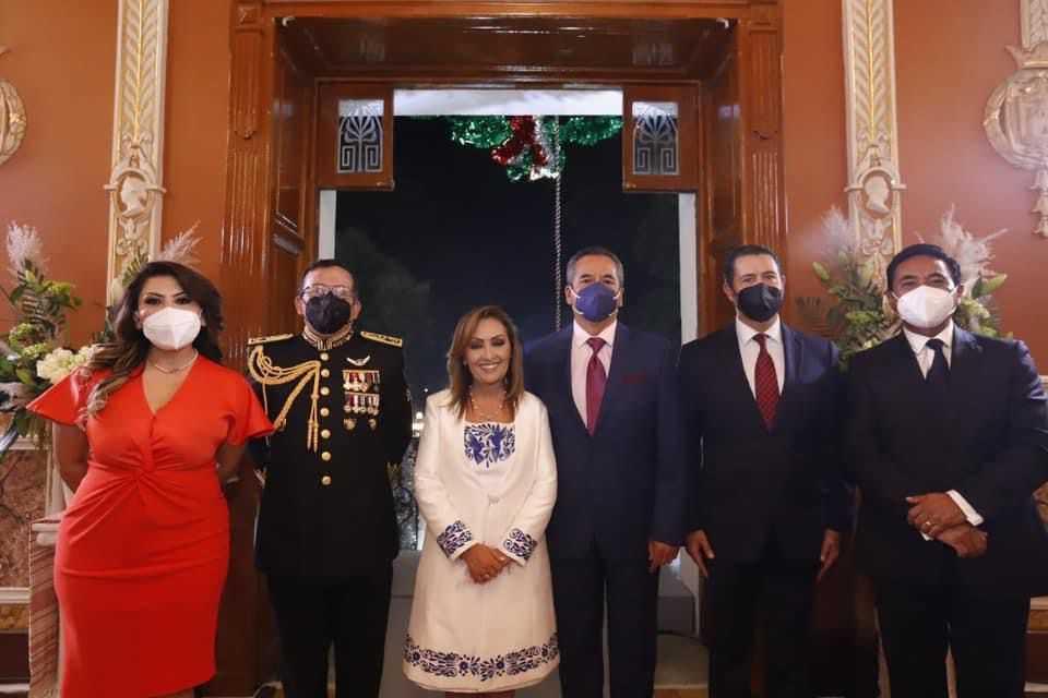 El Presidente Municipal Jorge Corichi participó en la Ceremonia del Grito de Independencia en Palacio de Gobierno