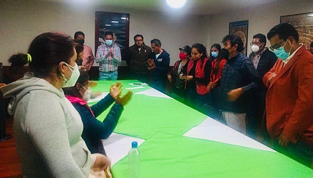 Firma acuerdo Toño Pluma con Tlaltelulquenses en tema de Seguridad Pública