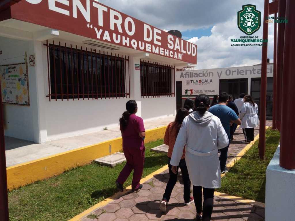 Participa ayuntamiento de Yauhquemehcan en simulacro del 19s