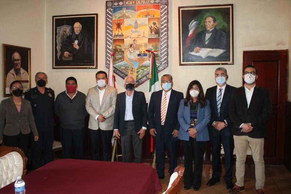 Integran en Chiautempan Consejo de Seguridad