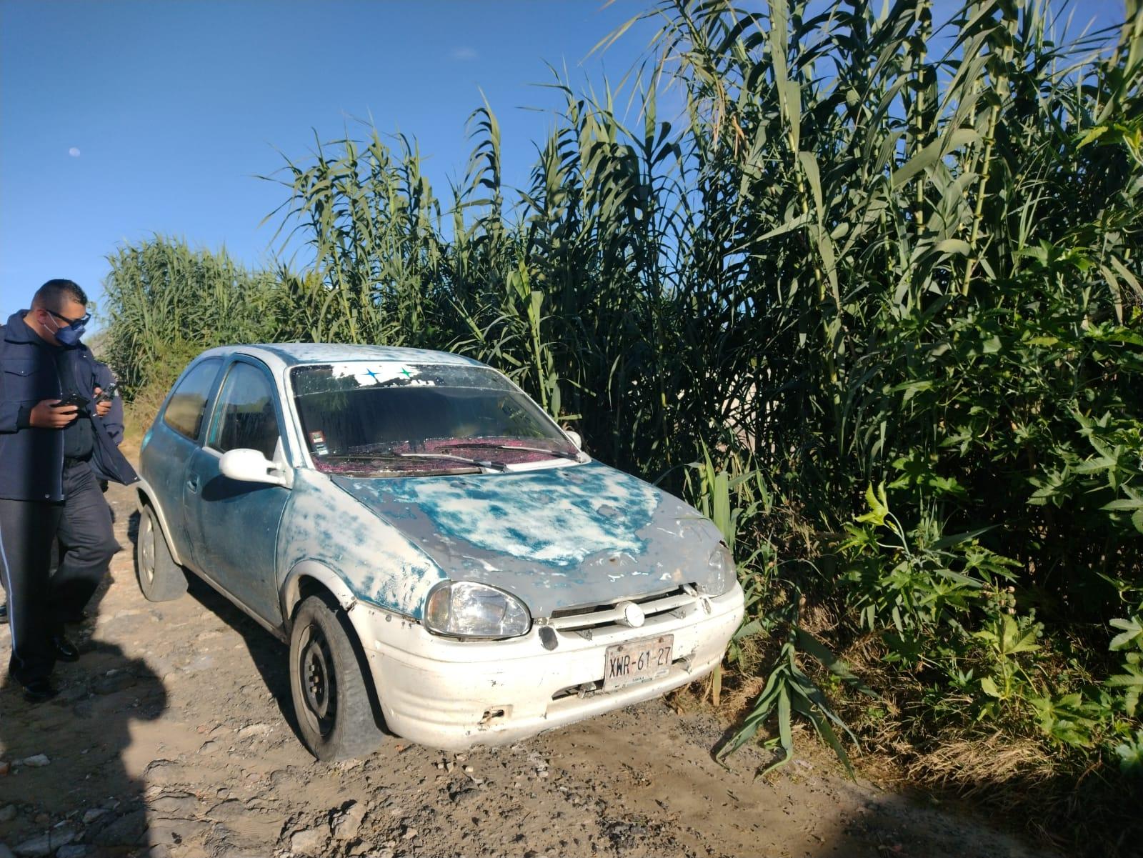 Recupera Policía de Tlaxcala automóvil robado en las inmediaciones del estadio Tlahuicole