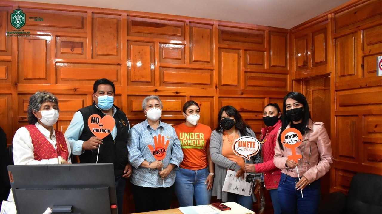 """Conmemora Ayuntamiento de Yauhquemehcan el """"Día Naranja"""""""