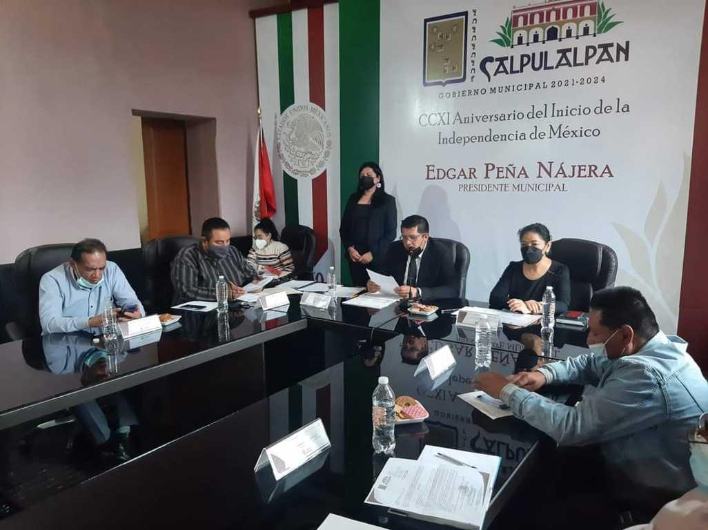 Cabildo y presidentes de comunidad trabajaran a favor de los pobladores