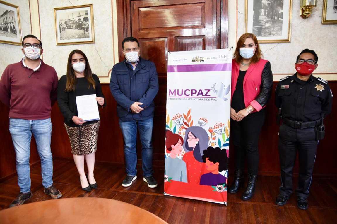 Integran Red de Mujeres Constructoras de Paz en el Municipio de Tlaxcala