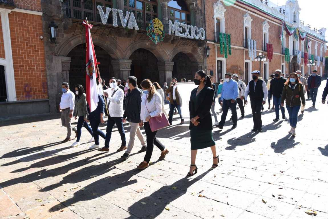 Retoma la Ciudad de Tlaxala la tradición centenaria del Paseo del Pendón