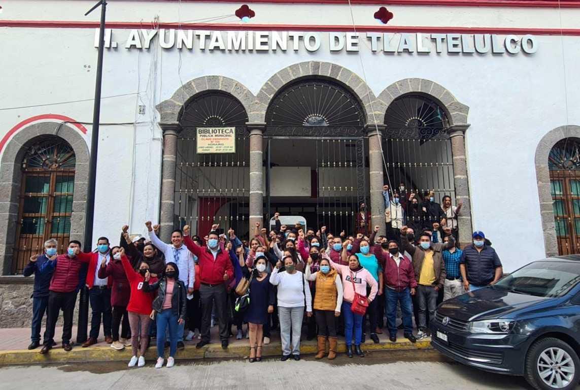Unidad, proyecto y objetivo en el ayuntamiento de Tlaltelulco: Toño Pluma