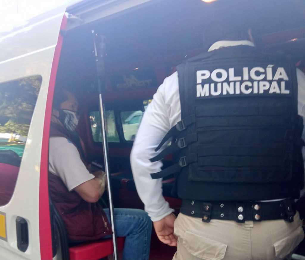 "Implementa Tlaxcala Capital el Operativo ""Pasajero seguro"""