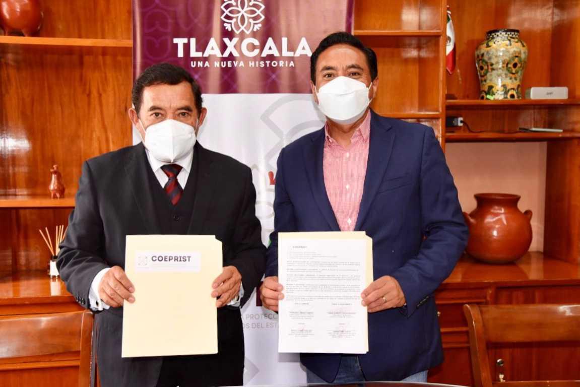 Tlaxcala acopiará y distribuirá hipoclorito de sodio para desinfectar agua