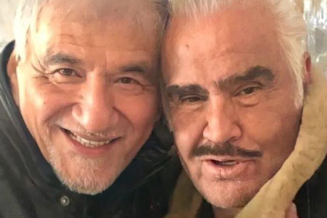 Con desgarrador mensaje Vicente Fernández se despide de Martín Urieta