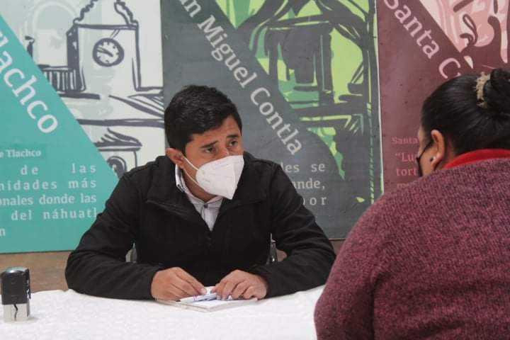 Atiende alcalde David Martínez del Razo a la ciudadanía